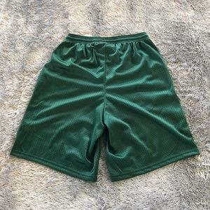 Champion Shorts - Champion Basketball Shorts - Forest Green